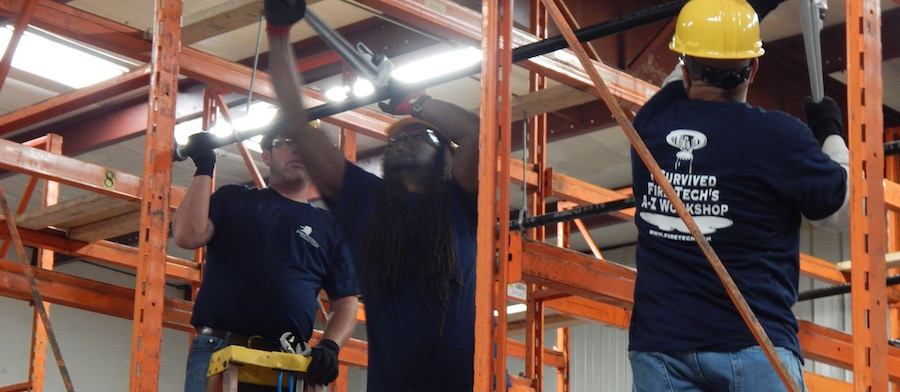 Fire Sprinkler Installation Hands-On Workshop from Fire Tech Productions