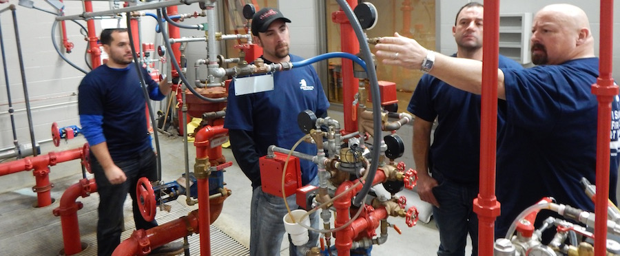 Fire Sprinkler Workshops