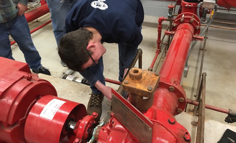 Fire Sprinkler Training from Fire Tech Productions