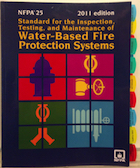 NFPA 25 2011 Tabbed