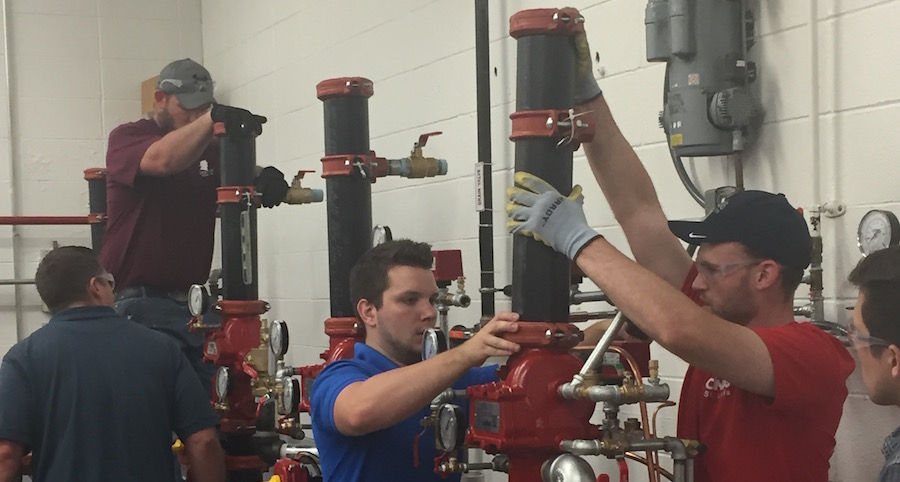 Fire Sprinkler Service & Repair Course