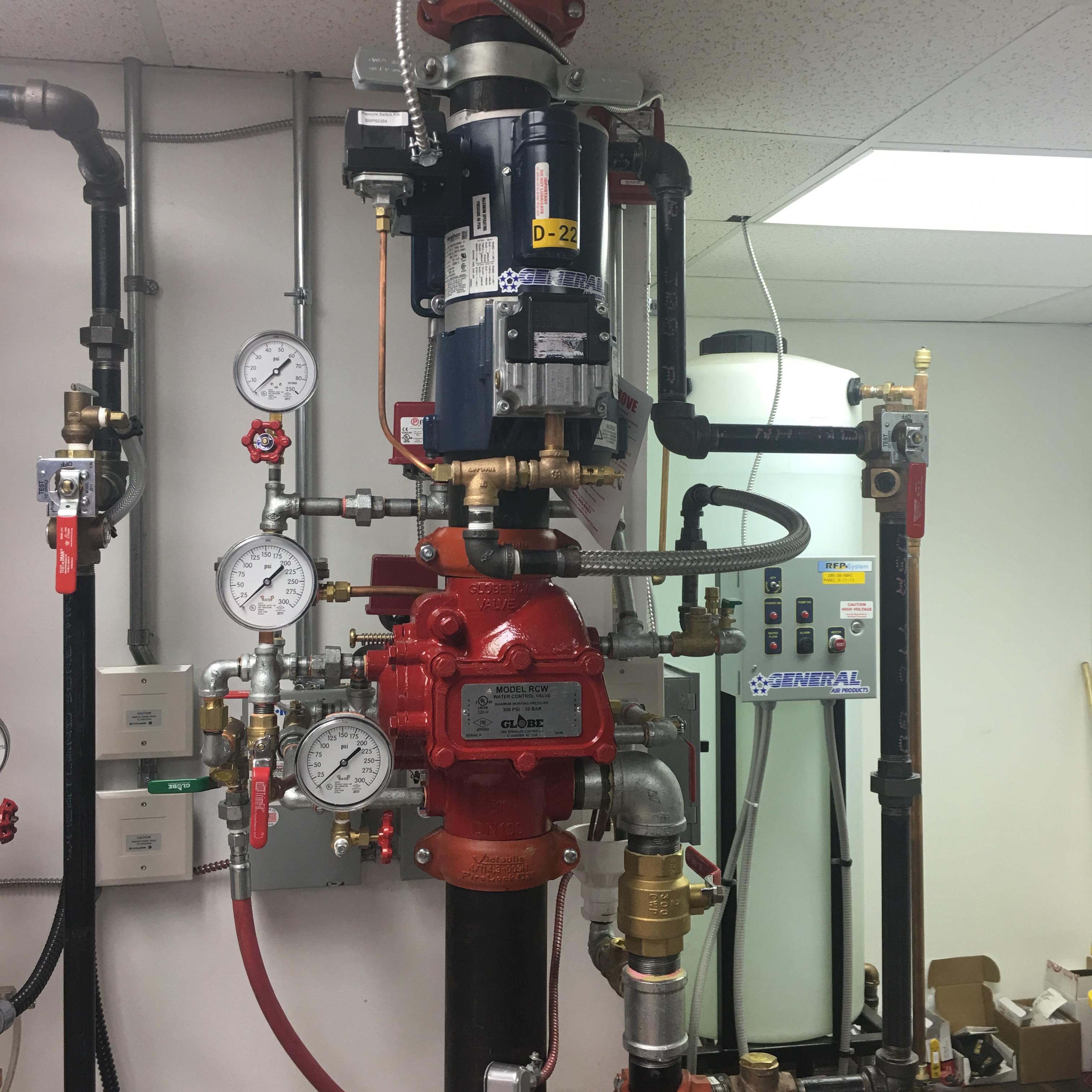 Fire Sprinkler Testing General Air
