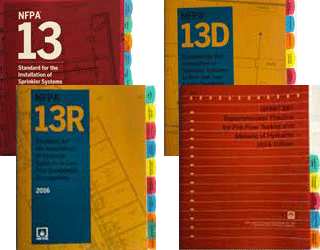 Fire Tabs for NFPA Standards - Allows quick and easy lookup