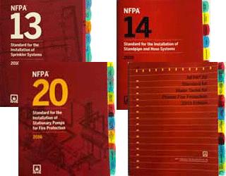 NFPA 13 2016 14 2016 20 2016 22 2013