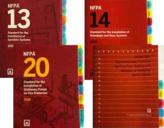 NFPA 13 2016 14 2016 20 2016 291 2016