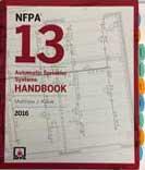 tabbed NFPA 13 2016 Handbook