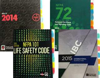 NFPA 70 2014 72 2016 101 2015 Uglys 2014 IBC 2015