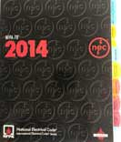 tabbed NFPA 70 2014