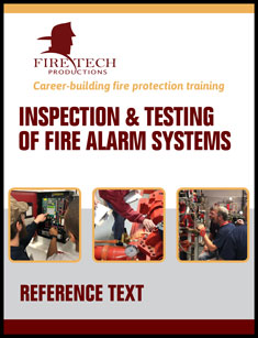 Inspection & Testing Fire Alarm Systems Training