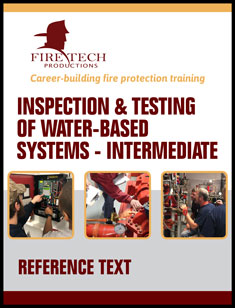Inspection & Testing of Water-Based Systems Intermediate Text