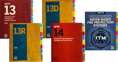 Fire Tabs for NFPA Standards make searches quick and easy