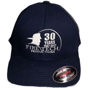 Fire Tech 30 Years blue hat front