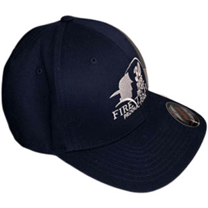 Fire Tech 30 Years blue hat side