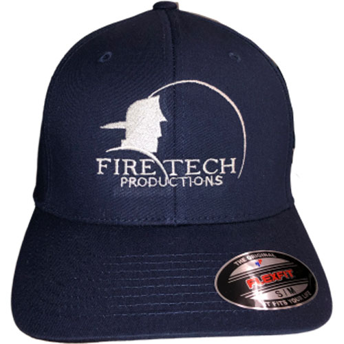 Fire Tech Dark blue Hat front