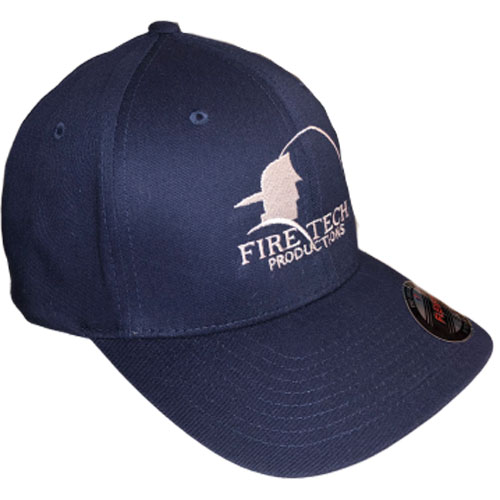 Fire Tech Dark blue Hat side
