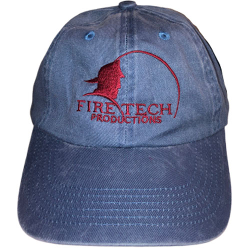 Fire Tech Blue Denim Hat Front