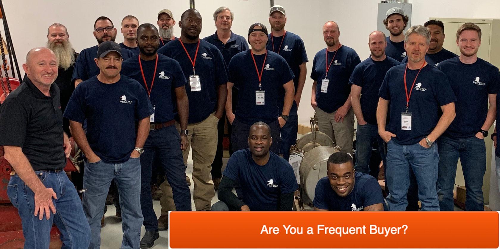 Fire Tech Fire Pump Workshop Students