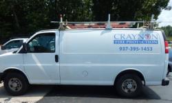 Fire Sprinkler Service Van